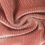 Terciopelo P/Sp 95/5 del punto con la tela que hace punto de Lurex para Dress de señora