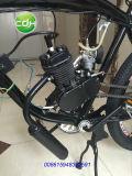 モーターを備えられた自転車のバイクエンジンの黒のための66cc 80ccの2打撃のガスエンジンモーター