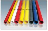 Tubo/tubo/poste circulares antiestáticos de la fibra de vidrio FRP GRP