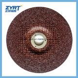 T27 meule rouge de la meule 100X6X16 pour en acier inoxydable