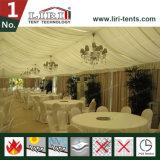 فندق مطعم ظلة حزب خيمة مع شريط تسجيل أرضية وبطانة داخلا