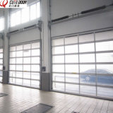 Industrial Automatic Aluminum Frame Transparent Panels Sliding Door