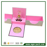 Caixa de Pefume de cartão aberto duplo de design mais recente