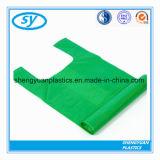 HDPE van 100% de Maagdelijke Materiële Plastic Zakken van de T-shirt voor het Winkelen