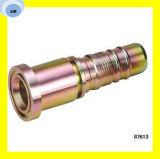 Borde hidráulico 6000 PSI 87613 del SAE de la guarnición de manguito del dispositivo de seguridad