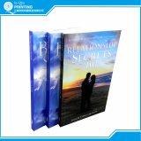 Книжное производство книги в мягкой обложке B/W высокого качества