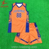 Cheap Sublimation Boys Basketball Vest com Shorts