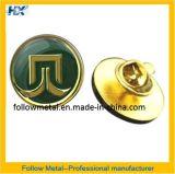 O emblema com ouro chapeou 10