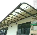 Aluminio-Alloyaterpr&PC de Rainshed Sunshed de los garages del pabellón del toldo del Gazebo del Carport del jardín del chalet