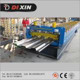 Le Decking galvanisé par état neuf d'étage en acier laminent à froid former le paquet d'étage de machine faisant le prix de machine