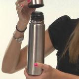 Edelstahl-Vakuumkolben-Arbeitsweg-Kolben-Wasser-Kolben-Vakuumflaschen-Arbeitsweg-Flasche