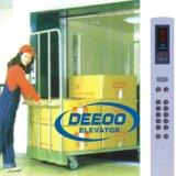 Elevador de frete grande da carga do espaço do centro comercial do armazém da fábrica