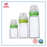 De brede Zuigflessen van het Glas van de Hals voor Voedende Babys