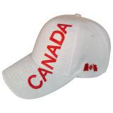 Gorra de béisbol blanca con la insignia grande Bbnw26