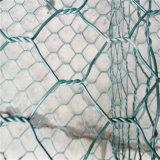 重い電流を通されたPVC上塗を施してあるGabionバスケットの金網