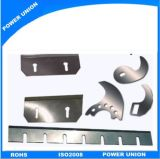Láminas del esquileo de Customzied SKD11 para el cuero y el plástico