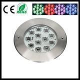 luz ahuecada RGB de 12X3w 3in1 DMX LED Inground