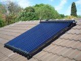 Calefator de água solar evacuado pressurizado 58/1800 da tubulação de calor da câmara de ar