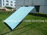 100% beständiges schweres Baumwollstrand-Farbton-UVzelt mit Drucken-Entwurf