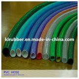 Tuyau de jardin coloré de l'eau de PVC