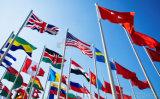 Bandiere nazionali differenti stampate Digitahi su ordinazione a buon mercato 100% del poliestere