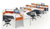 Modern Big Durable Office Desk Staff Workstation / Partition Save Space (SZ-WS071)
