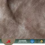Materiale più poco costoso del cuoio del tessuto del PVC di prezzi per uso dei bagagli e della borsa