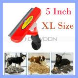 XL-Größen-Hundeausbau-Kamm-Bürsten-Haustier-Pflegenpelz Deshedding scherendes Hilfsmittel