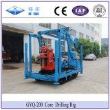 Xitan Gyq200 코어 드릴링 리그 토양 수사 드릴링 기계 Spt 광업 교련