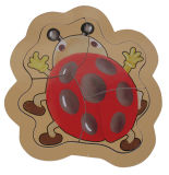 Головоломка воспитательных деревянных игрушек деревянная (34719-4)