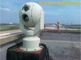 Камера термально Imager PTZ IP длиннего ряда PTZ блока развертки установленная кораблем ультракрасная