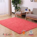 ホーム装飾者の現代毛羽織り領域敷物の極度の柔らかい固体居間のカーペット