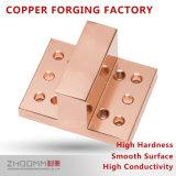 Accesorios de cobre que trabajan a máquina de la precisión