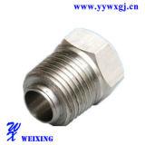 Encaixe apropriado de aço masculino do selo do conetor da tubulação de Strainless