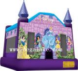 Mini château plein d'entrain gonflable résidentiel
