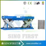Levage vertical de vente chaud de cargaison/levage cargaison de ciseaux pour l'entrepôt