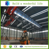 Plans structuraux en acier de projet de construction de bâti d'atelier
