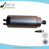 Motor refrigerado por agua de alta velocidad del eje de rotación 2.2kw para el cuchillo de la carpintería del CNC