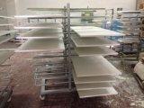 2017熱い販売法の最もよい価格の光沢度の高く白い食器棚