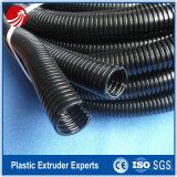 Tubo ondulato a parete semplice di plastica ad alta velocità del tubo che fa macchina
