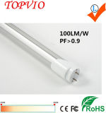 High Lumen 1200mm helado 80ra 1200mm 4FT T8 LED tubo