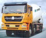 De Vrachtwagen van de Concrete Mixer van het Merk van Sinotruk met 8X4 DrijfType