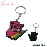 Оптовый дешевый PVC Keychains бесплатной раздачи