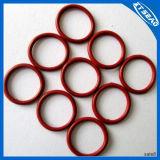 Резиновый колцеобразное уплотнение для продуктов запечатывания газа в красном цвете