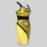 Vêtements élastiques de femmes de bandage de glissade de Bodycon