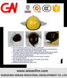 Il vestito rallentatore di lotta antincendio di calore ha fissato l'inclusione della cinghia dei guanti dei caricamenti del sistema del casco