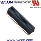 0.8mm H=3.1mm verdoppeln 180 Grad SMT Weibchen-Vorsatz-