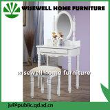Hölzerner Schlafzimmer-Möbel-Abziehvorrichtung-Tisch mit Spiegel (W-HY-029)