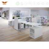 네 사람 시트 L 모양 사무실 워크 스테이션 사무실 분할 (HY-239)를 위한 현대 오피스 전화 센터