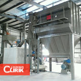 Molino de pulido de la mica del acoplamiento de D97 30-2500, polvo que hace la máquina